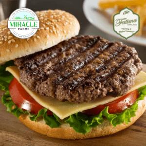 Fatima Zabiha Foods Angus Beef Burger Patties