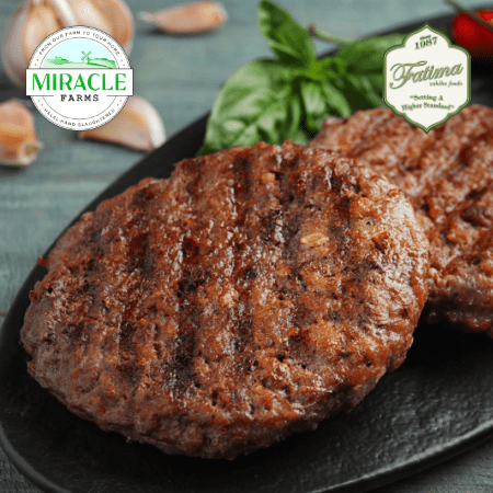 Fatima Zabiha Foods Beef Patties