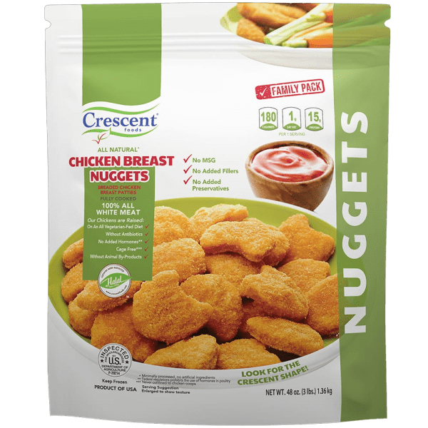Crescent Foods Chicken Breast Nuggets