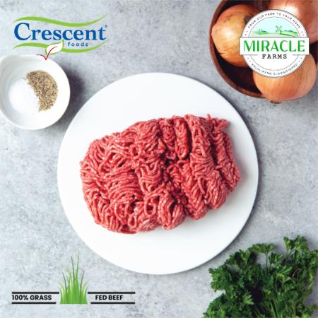 Crescent Foods Grass Fed Ground Beef