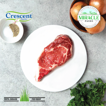 Crescent Foods Grass Fed Beef Ribeye