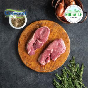 Crescent Foods Grass Fed Boneless Lamb Leg Steak