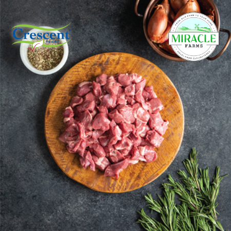 Crescent Foods Grass Fed Lamb Stew Meat